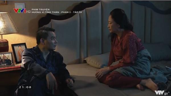 Hương Vị Tình Thân tập 34: Bà Xuân lại bị mẹ chồng đánh tơi tả-5