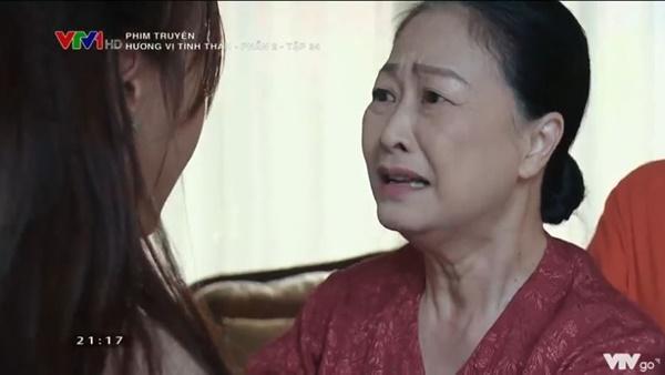 Hương Vị Tình Thân tập 34: Bà Xuân lại bị mẹ chồng đánh tơi tả-16