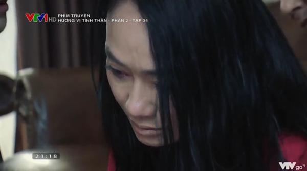 Hương Vị Tình Thân tập 34: Bà Xuân lại bị mẹ chồng đánh tơi tả-17