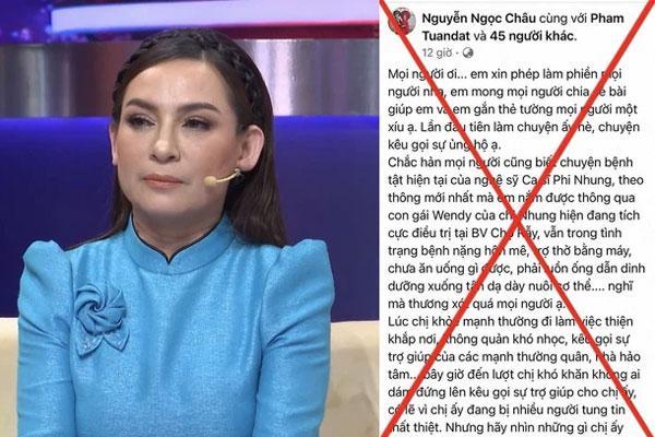 Luật sư nói gì về hành vi lợi dụng Phi Nhung để kêu gọi từ thiện?-1