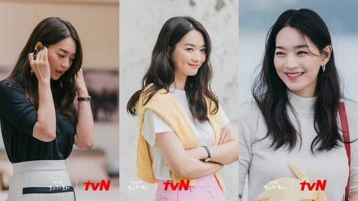 Loạt tóc cực xinh của Shin Min Ah trong Hometown Cha-Cha-Cha-2