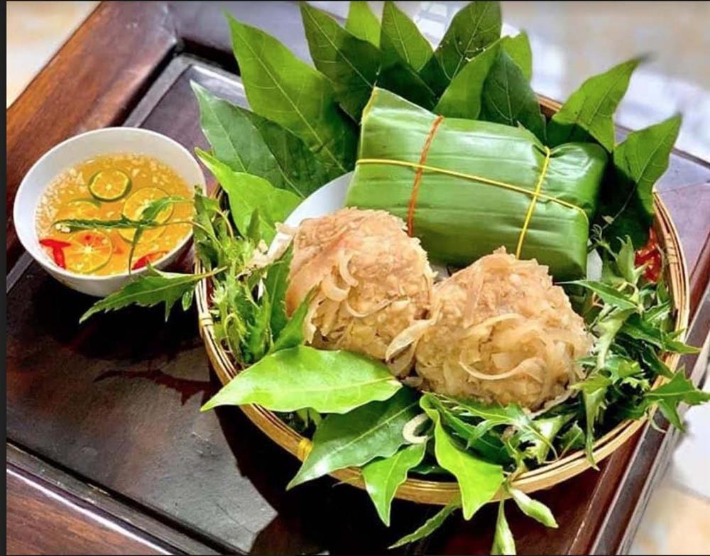 Đặc sản Nam Định chỉ nhúng nước sôi, bên trong vẫn đỏ rau ráu-3