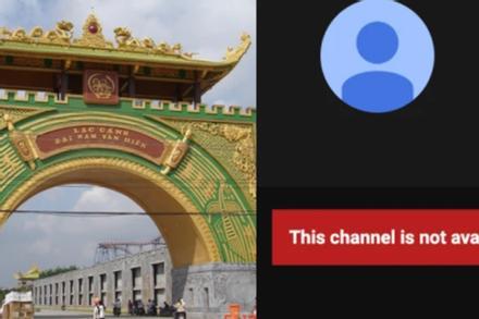 Toàn bộ các kênh YouTube nữ đại gia đình đám đã 'bốc hơi'