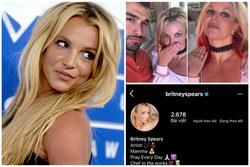 Britney Spears cho Instagram 'bay màu' trong phút mốt