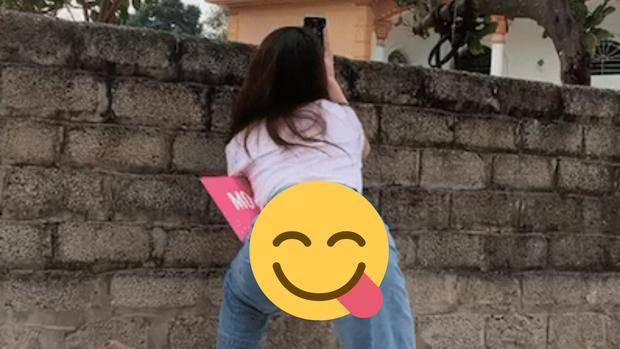 Bồ mới Quang Hải đăng clip khoe dáng đứng khiêu khích-2