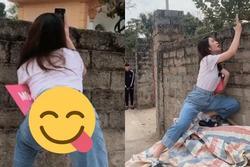 Bồ mới Quang Hải đăng clip khoe dáng đứng khiêu khích