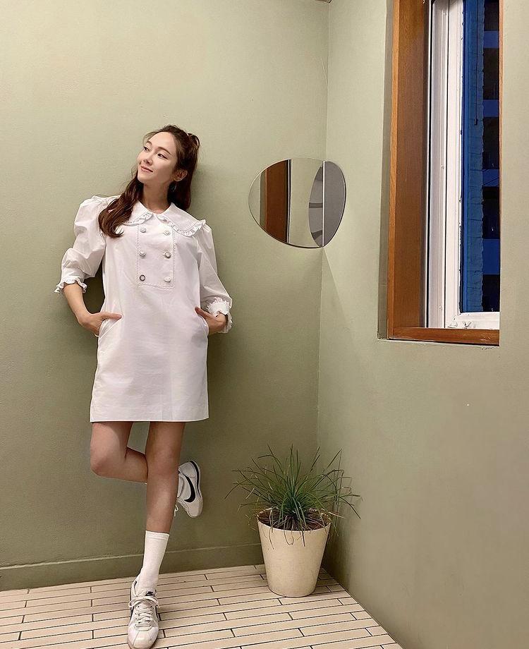 Công thức mix đồ đơn giản siêu đẹp như chị em Jessica - Krystal-7
