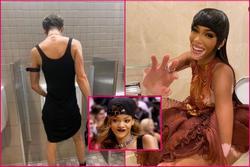 Sao Met Gala bị chụp trộm khi đang đi toilet: Rihanna đầu têu?