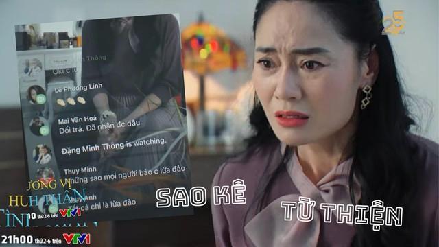 Ê-kíp Hương Vị Tình Thân nói gì khi phim bắt trend sao kê từ thiện?-1