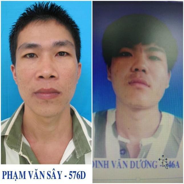 Truy tìm 2 phạm nhân giết người - cướp tài sản trốn trạm giam-1