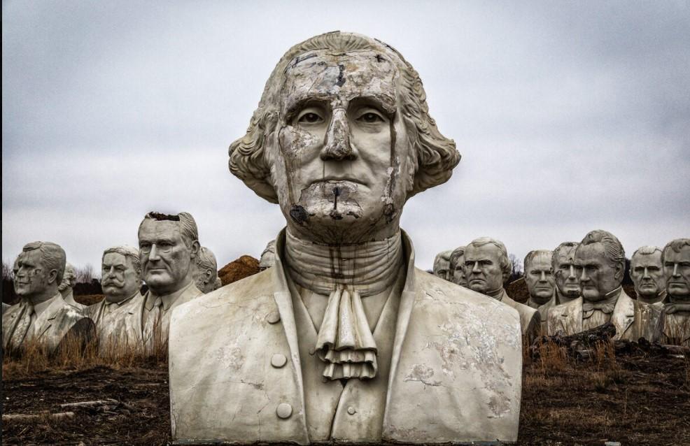 Cánh đồng kỳ lạ chứa 42 tượng bán thân các đời Tổng thống Mỹ-3