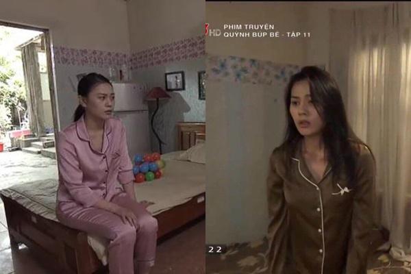 Lên phim thảm họa, đồ ngủ của Phương Oanh ngoài đời khác bọt-3