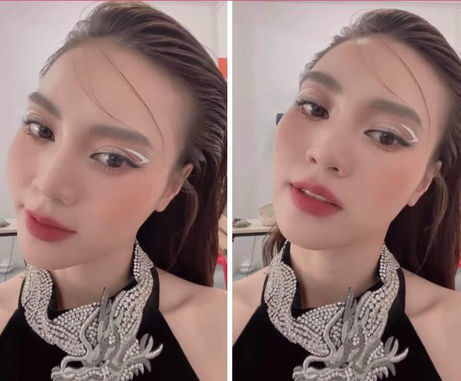 Ra mà xem, sao Việt bắt trend kẻ mắt lửng lơ xịn hơn Rosé nhiều!-9