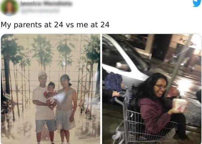 Loạt ảnh ngáo ngơ khi con cái lại cùng độ tuổi với bố mẹ-12