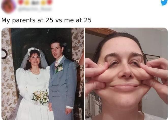 Loạt ảnh ngáo ngơ khi con cái lại cùng độ tuổi với bố mẹ-13