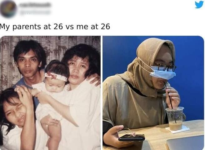 Loạt ảnh ngáo ngơ khi con cái lại cùng độ tuổi với bố mẹ-10