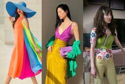Sao Việt phối đồ màu sắc: Người chất chơi - kẻ như 'tắc kè hoa'