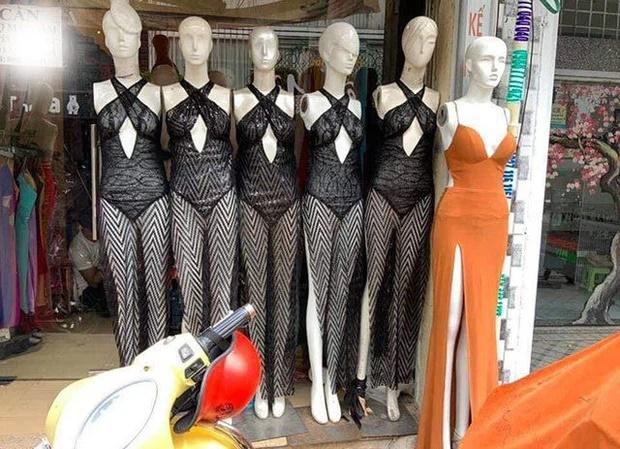 Váy Ngọc Trinh, Thủy Tiên mặc hôm nay, hôm sau bán đầy chợ-3