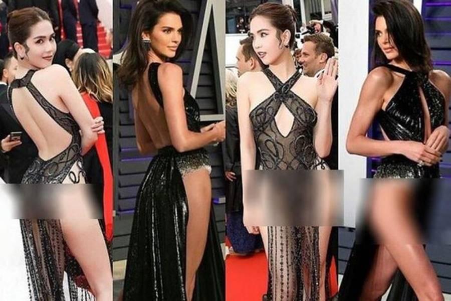 Thời trang đường phố đến thảm đỏ của Ngọc Trinh đều giống Kendall Jenner-9