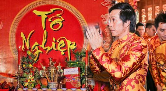 Dàn sao cầu an cho Phi Nhung trong ngày cúng Tổ nghiệp-1