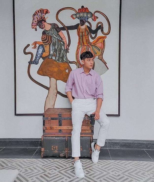 Isaac khoe tài mix đồ đẹp tựa soái ca Hàn Quốc-3