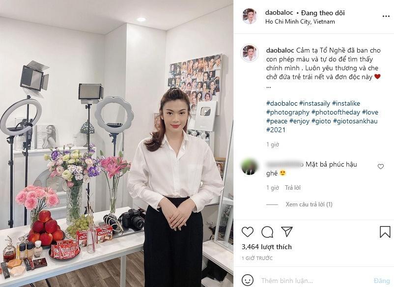 Giỗ Tổ Nghề, Đào Bá Lộc diện cả váy tạo dáng chuẩn Hoa hậu-1