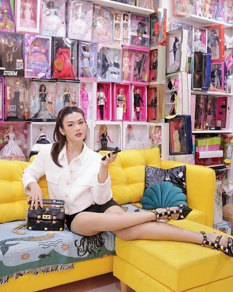 Giỗ Tổ Nghề, Đào Bá Lộc diện cả váy tạo dáng chuẩn Hoa hậu-3