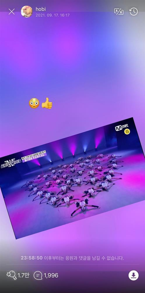 j-hope (BTS) được khen tinh tế khi ủng hộ một nhóm nhảy nữ-2