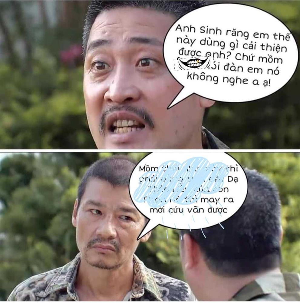 Ông Tấn Hương Vị Tình Thân bị chế ảnh thô bỉ với Võ Hoài Nam-2