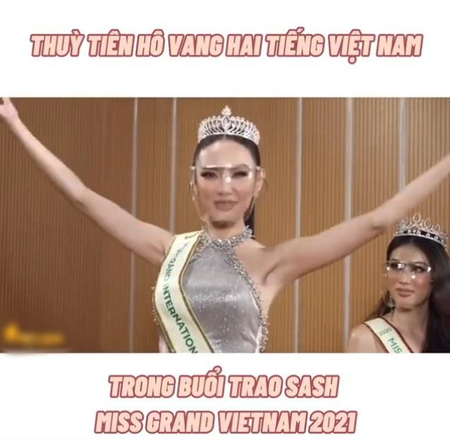 Hé lộ bản vẽ Quốc phục của Thùy Tiên dự thi Miss Grand 2021-1