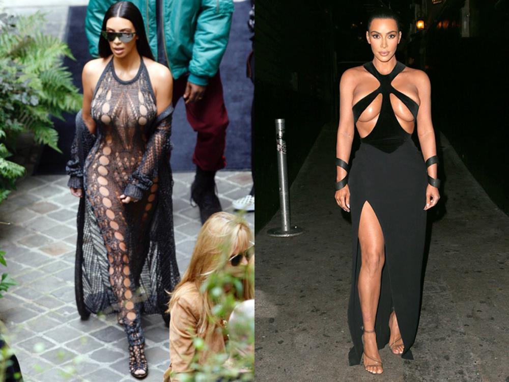 Chán khoe da thịt, Kim Kardashian đổi style kín mít không kẽ hở-1