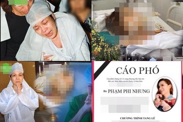 Phẫn nộ ảnh cáo phó giả Phi Nhung, Việt Hương quỵ bên linh cữu
