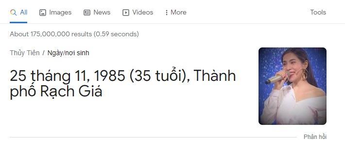 Thủy Tiên sinh năm 1985 là thông tin ảo?-5