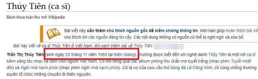 Thủy Tiên sinh năm 1985 là thông tin ảo?-6