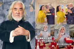 'Ông trùm phim Kim Dung: Hết thời đi livestream bán vàng, 70 tuổi lấy vợ đáng tuổi con