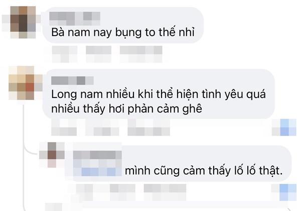 Nam Hương Vị Tình Thân lộ bụng to khi Long réo đến giờ ăn giò-8