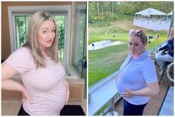 Hi hữu người phụ nữ mang thai đứa con thứ ba ở tuổi 62