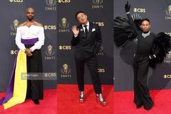 Thảm đỏ Emmy: Sao nam diện đồ kì dị, mặc váy lồng lộn hơn phái nữ