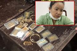 'Nữ quái' trộm 20 lượng vàng và hơn 120 triệu rồi dẫn nạn nhân đi trình báo
