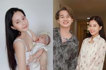 Thiên An và con gái chung với Jack lần đầu cùng xuất hiện