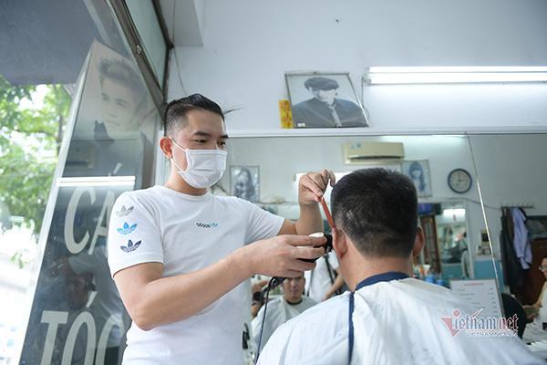 Từ 6h ngày 21/9, Hà Nội mở lại nhiều dịch vụ cắt tóc, gội đầu....-1