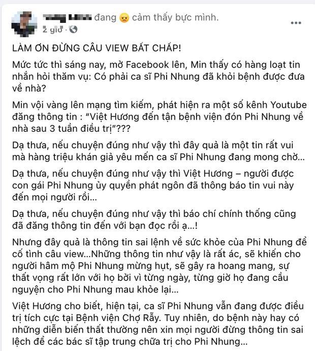 Tin xấu bủa vây Phi Nhung, Mạnh Quỳnh van xin dân mạng!-3