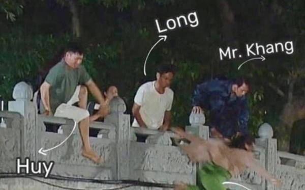 Phía sau cảnh quay dưới nước ấn tượng của diễn viên Việt-4