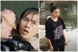 Phía sau cảnh quay dưới nước ấn tượng của diễn viên Việt