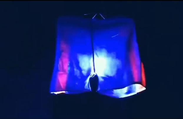 Cười ngã ngửa đèn Trung Thu tự chế phiên bản quần đùi xoay-2