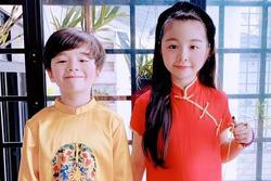 Cặp nhóc tỳ nhà Elly Trần lớn phổng phao, đẹp miễn chê