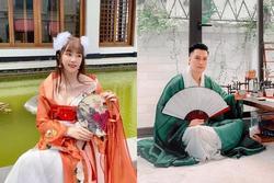 Quỳnh Nga hóa 'chị Hằng' khoe 'bưởi', tránh sống ảo với Việt Anh
