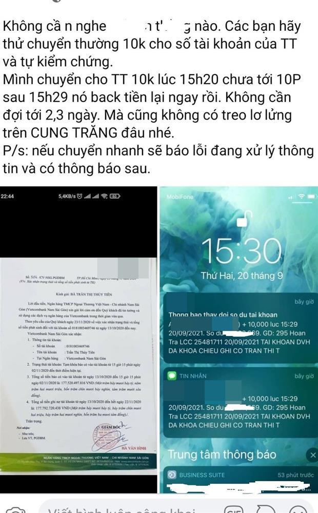 CEO bóc tạm khóa báo có, Thủy Tiên làm rõ ngọn nguồn-3