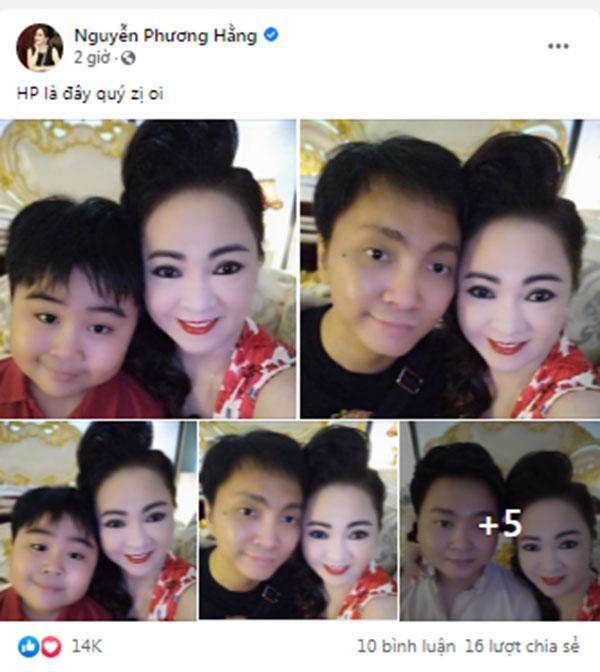 Bà Phương Hằng lần đầu khoe ảnh chụp cận mặt cùng 6 con-1