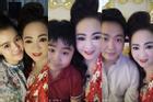 Bà Phương Hằng lần đầu khoe ảnh chụp cận mặt cùng 6 con